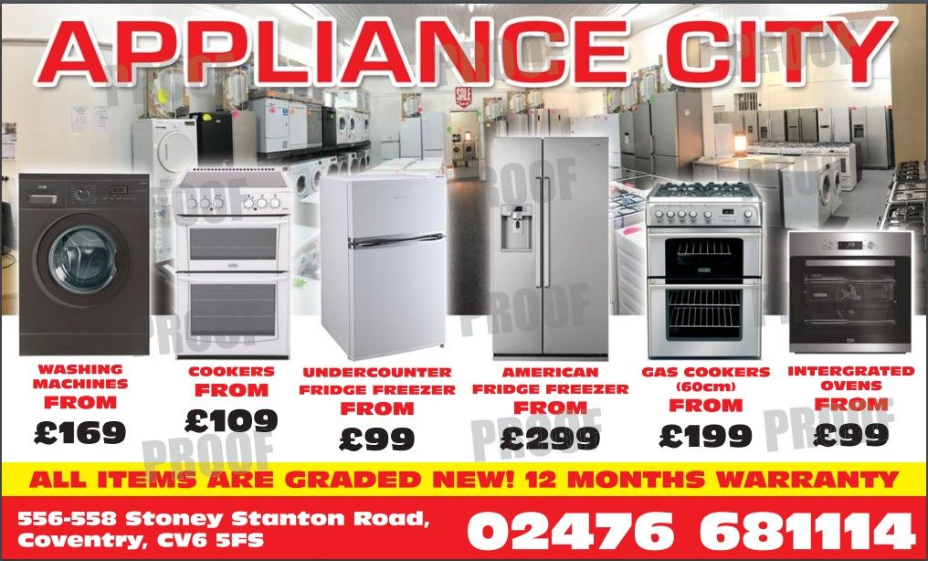 appliance city poster